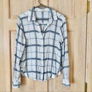Bella Dahl Button Down Shirt Size Medium